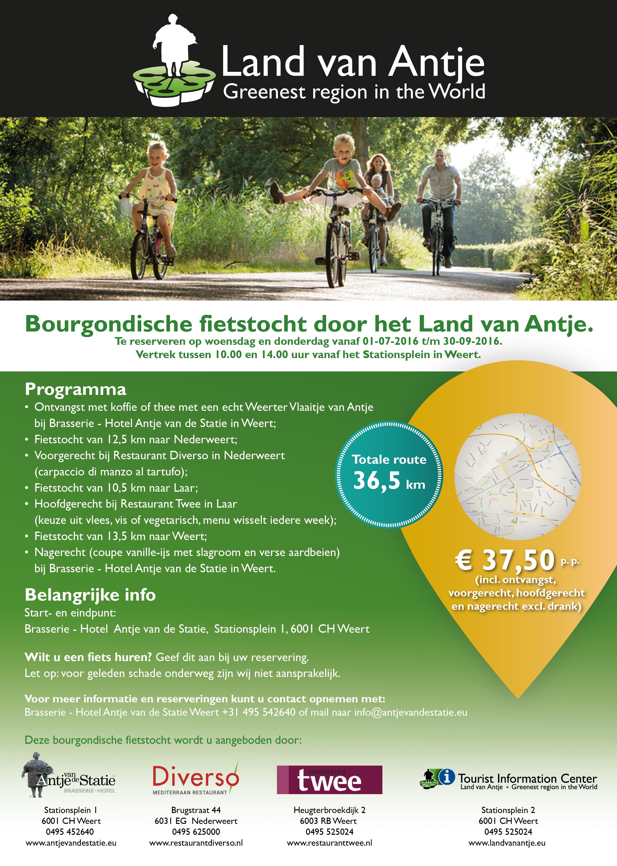 Bourgondische fietsroute